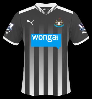 Newcastle United Home Shirt