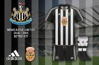 Newcastle United Retro Kit