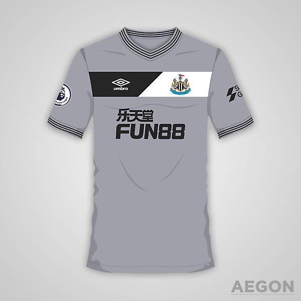 Newcastle United Umbro Away Kit