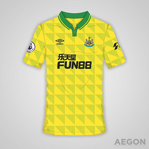 Newcastle United Umbro Third Kit