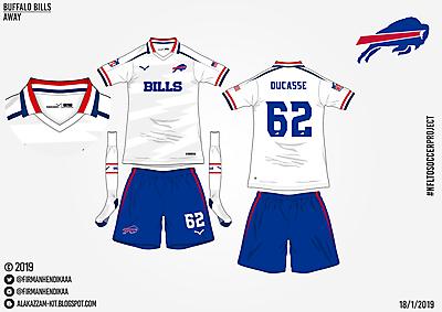 #NFLtoSoccerProject - Buffalo Bills (Away)