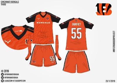 #NFLtoSoccerProject - Cincinnati Bengals (Third)