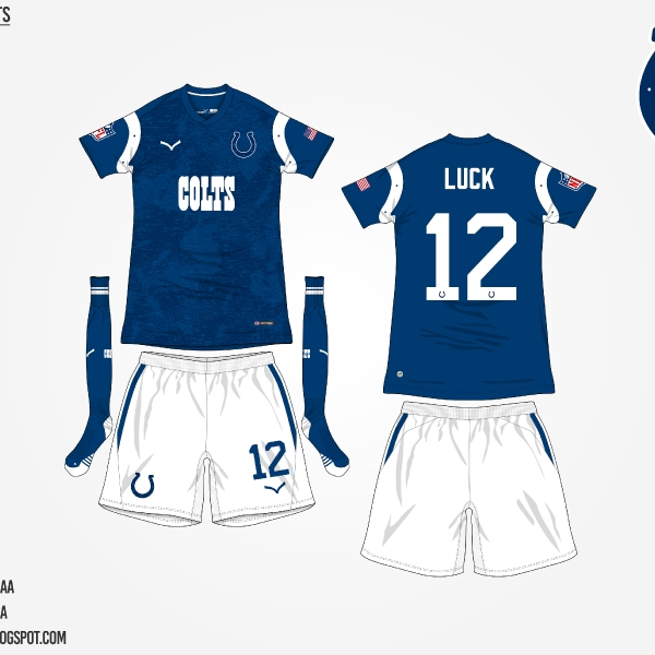 #NFLtoSoccerProject - Indianapolis Colts (Home)
