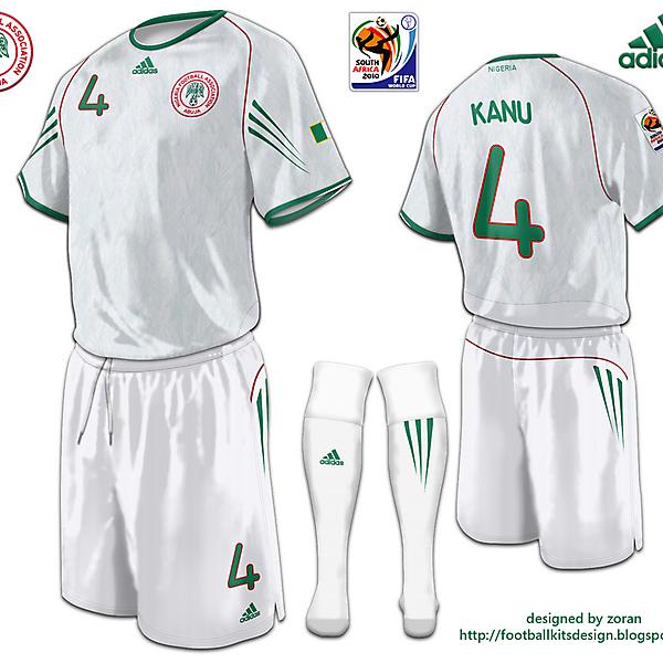 Nigeria World Cup 2010 fantasy away