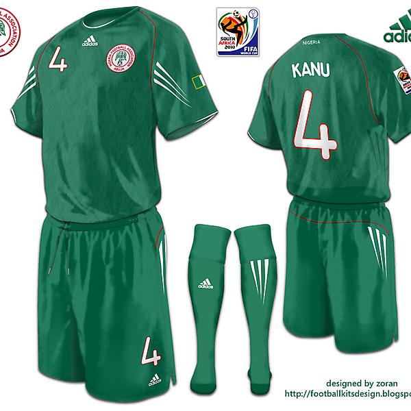 Nigeria World Cup 2010 fantasy home
