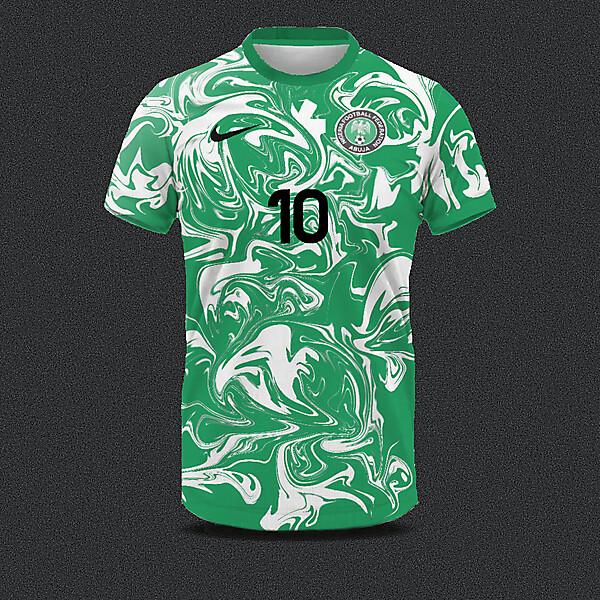 Nigeria home shirt concept