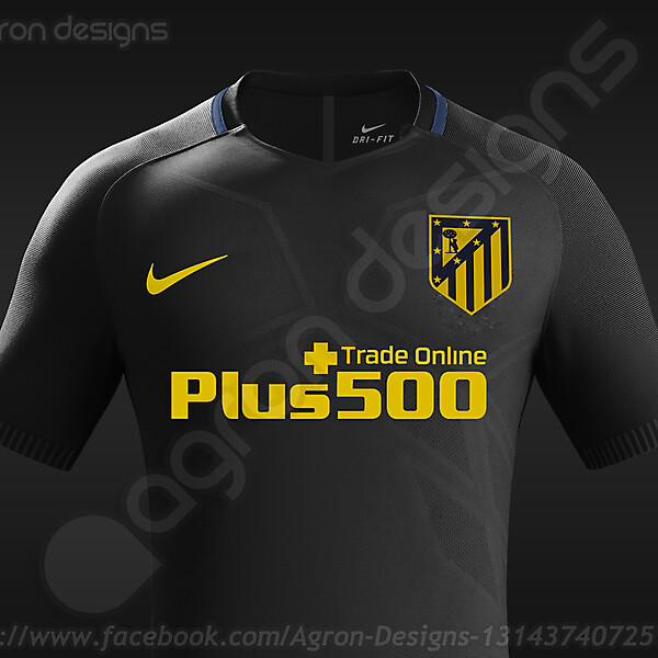 Nike Atlético Madrid 2016-17 Away Kit Based On Leaked Images