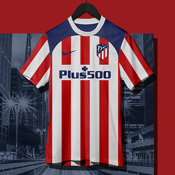 nike Atletico Madrid Home Shirt Cocnept