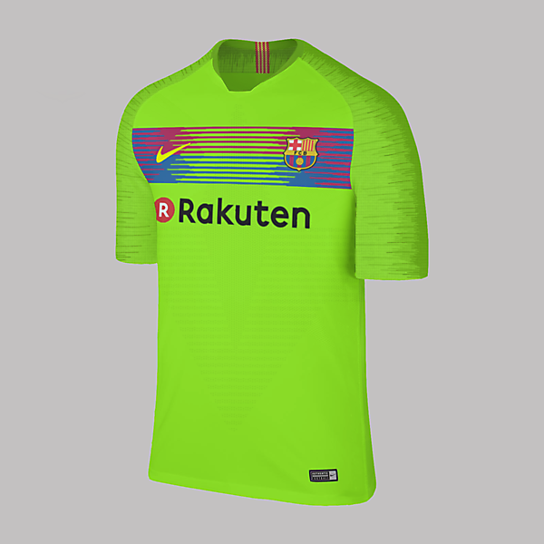Nike Barcelona Away 2018/2019 Concept