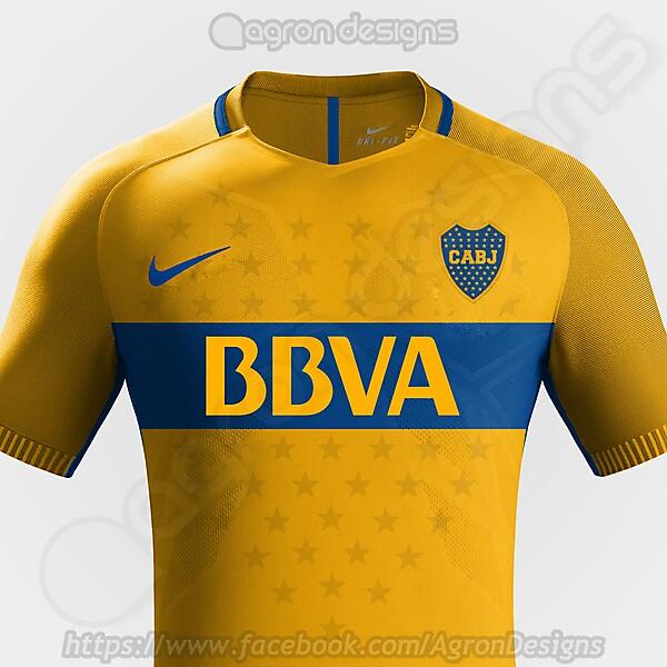 Nike Boca Juniors Away Kit Concept