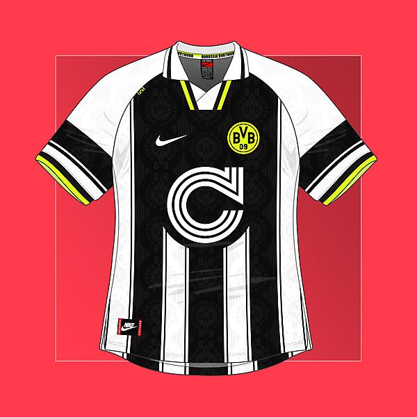 Nike Borussia Dortmund 1996-97 Third Kit