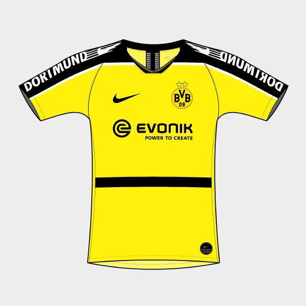 Nike Borussia Dortmund 2019-20 Home Jersey Concept