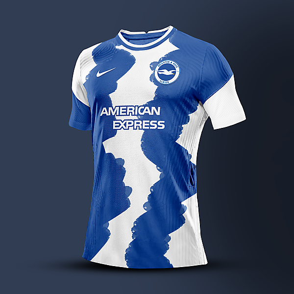 nike Brighton & Hove Albion Home Shirt Cocnept