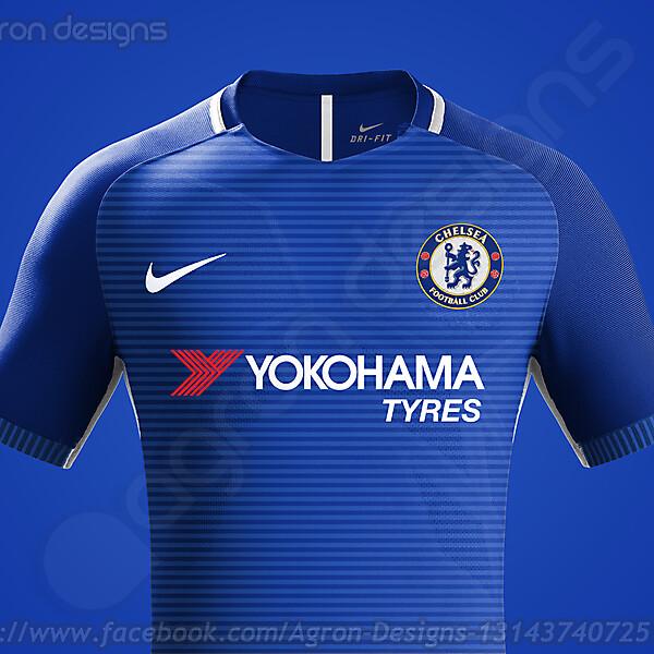 Nike Chelsea Fc Home Kit Concept v2