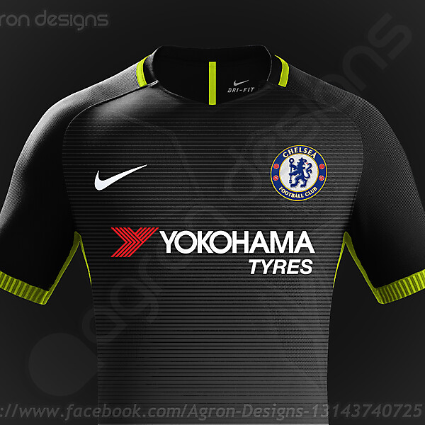 Nike Chelsea Fc Third Kit Concept