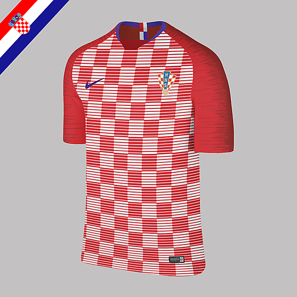 Nike Croatia Home Jersey 2018 Concept