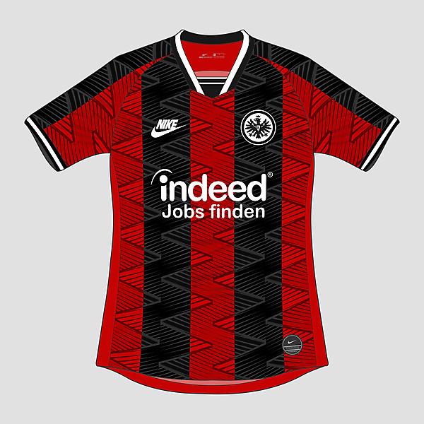 Nike Eintracht Frankfurt 2020-21 Home Kit