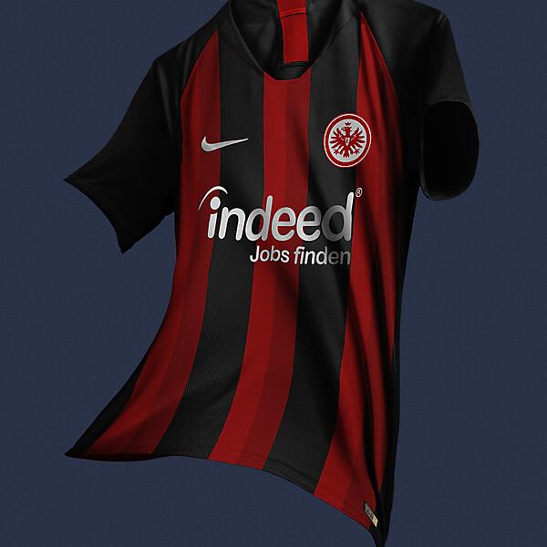 Nike Eintracht Frankfurt Home Jersey Concept