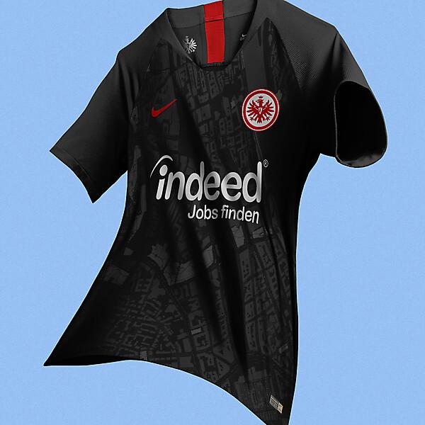 Nike Eintracht Frankfurt Third Jersey Concept
