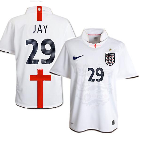 Nike England Home Shirt 1