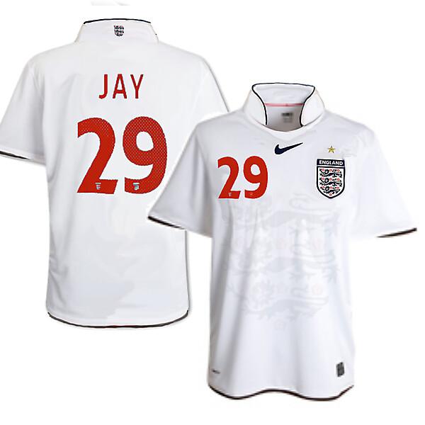 Nike England Home Shirt 2