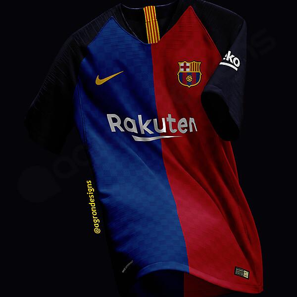 Nike Fc Barcelona 2019-20 Home Kit Concept