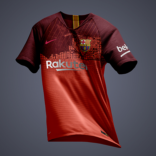 Nike FC Barcelona Third Jersey concept/preview