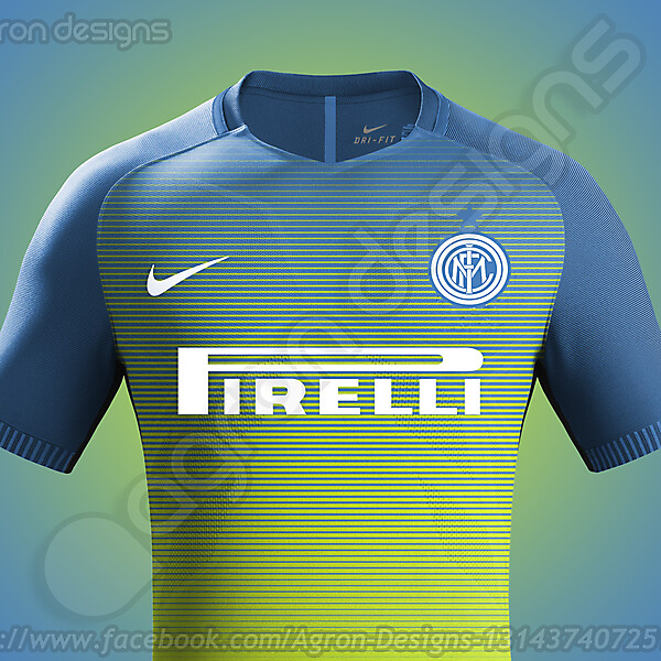 Nike Fc Internazionale Milano 2016-17 Third Kit Possible