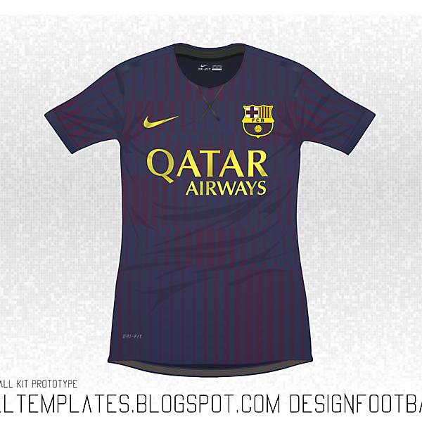 Nike Flyknit : FC Barcelona