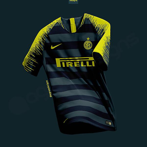 Nike Inter Third Kit Concept