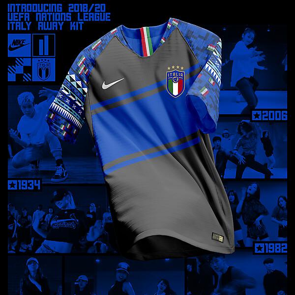 Nike Italy Away Shirt