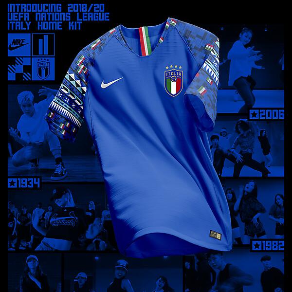 Nike Italy Home Shirt