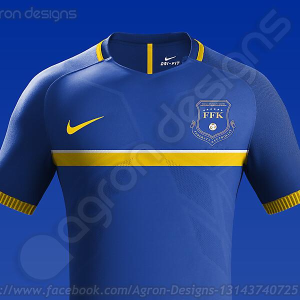 Nike Kosovo NT Home Kit Concept