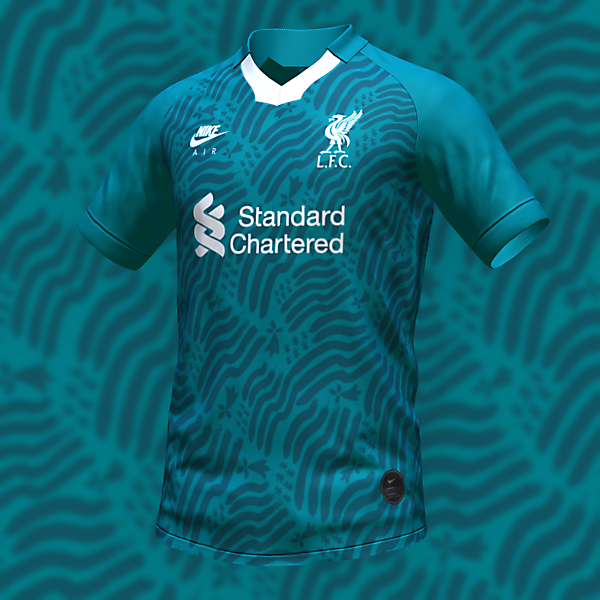 nike Liverpool Thirt Shirt Concept