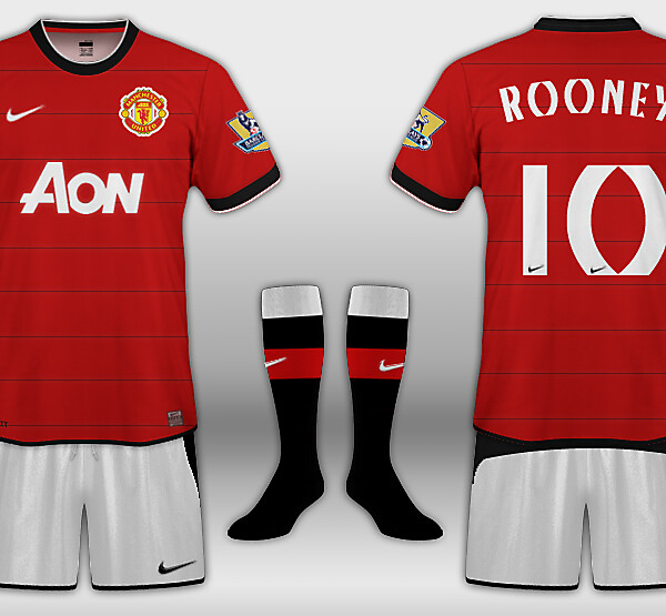 Manchester United Home Kit by Nike