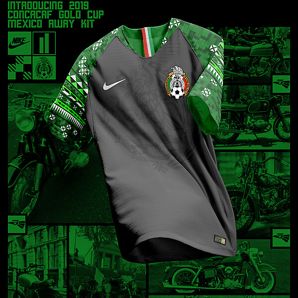 Nike Mexico Away Shirt