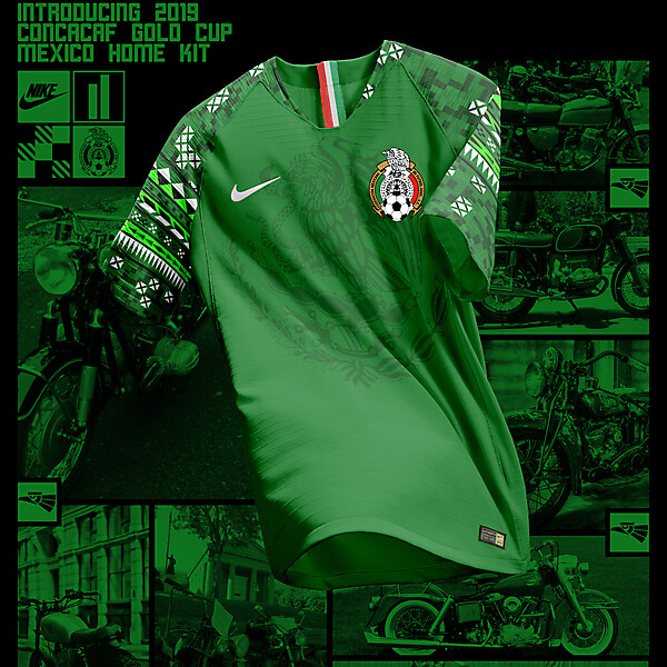 Nike Mexico Home Shirt