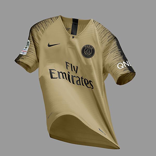 Nike Paris SG 2018-19 Away Jersey Prediction/Concept