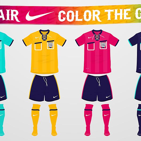 Nike Referee Kit Designs