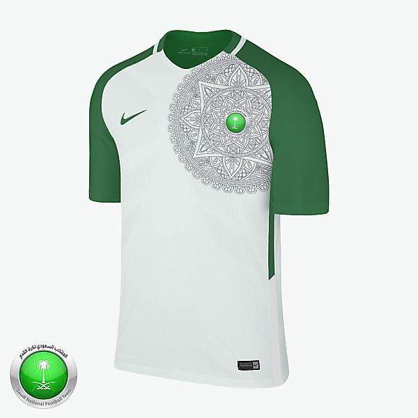 Nike Saudi Arabia Away