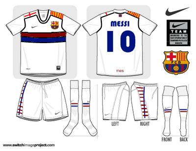 Barcelona Away Fantasy Shirt