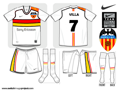 Valencia Home Fantasy shirt