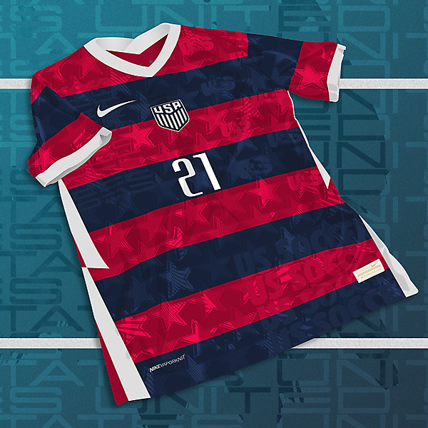 Nike US Soccer 2020-21 Third Jersey Concept