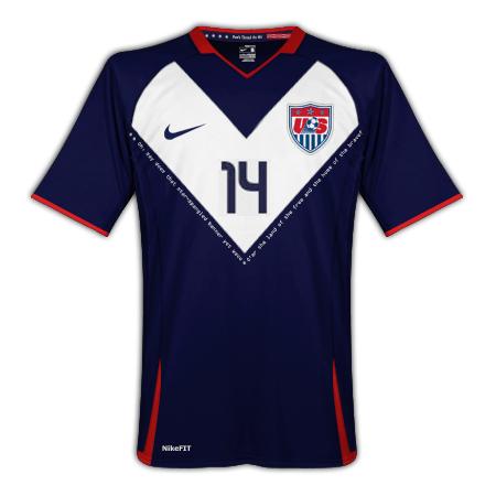 USA Nike Away Kit