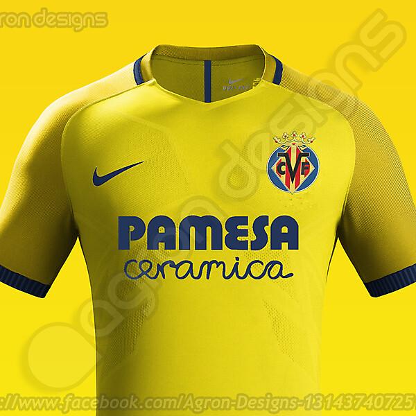 Nike Villarreal Cf Home Kit Concept