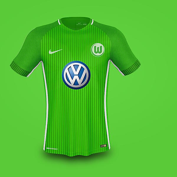 Nike Wolfsburg Home