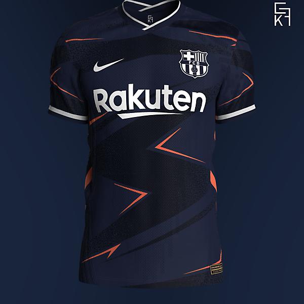Nike X Barcelona Away kit concept