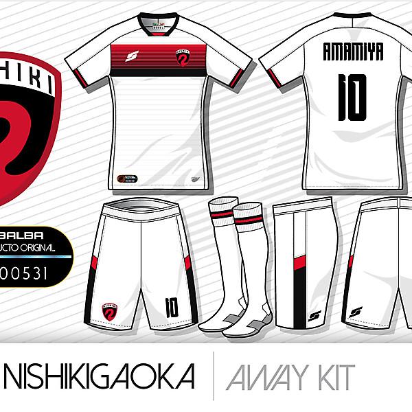 Nishikigaoka Away kit