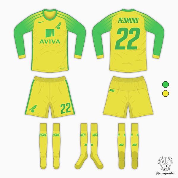 Norwich City Home Kit - Nike