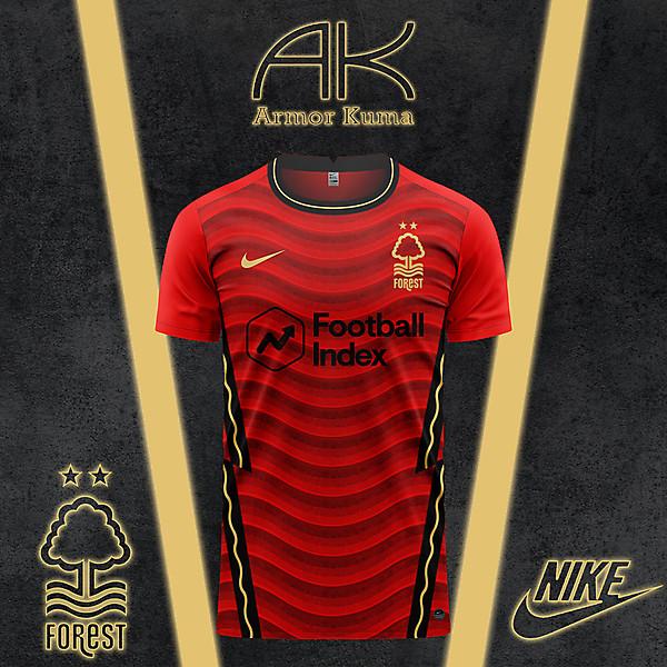 Nottingham Forest FC Nike Home Kit